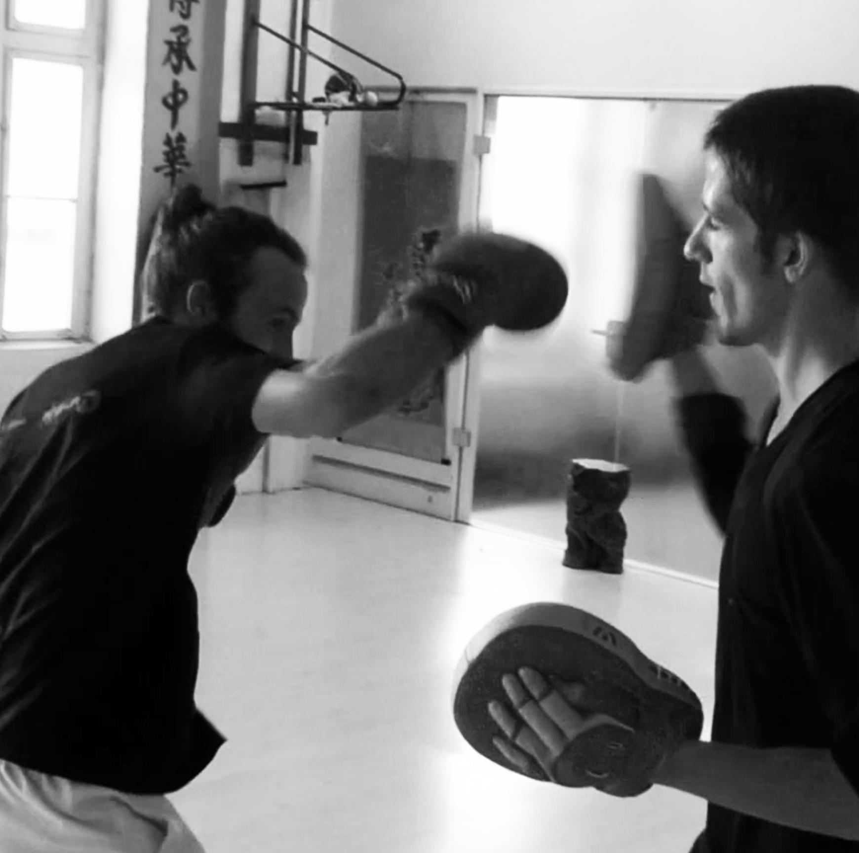 Boxing and Sanda