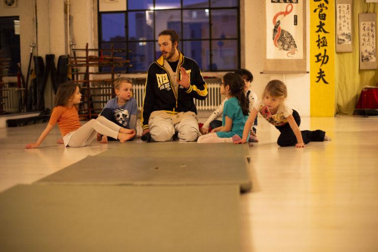 Tiger Kinder training