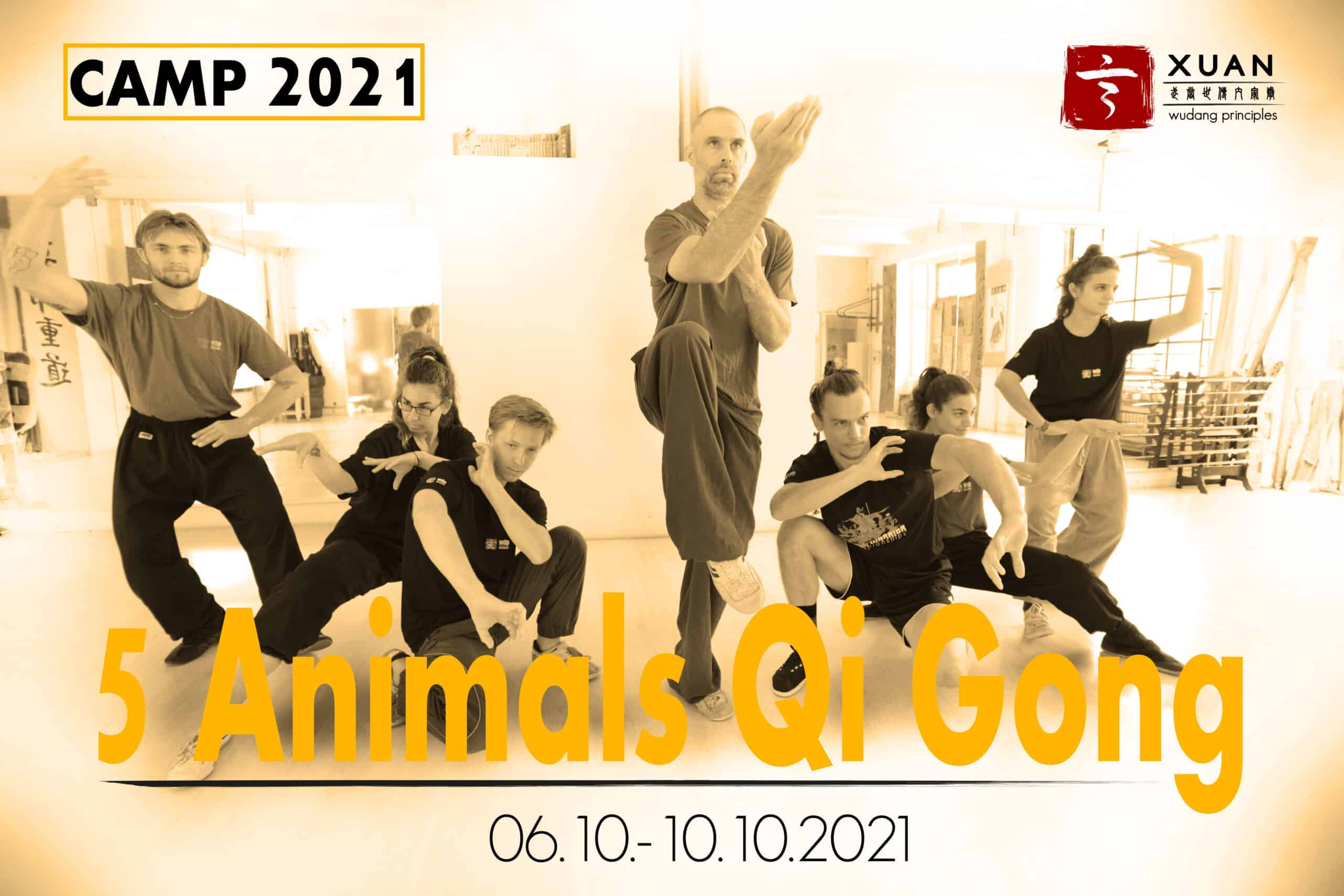 CAMP 2021 - 5 Animals Qi Gong Basic and Advanced