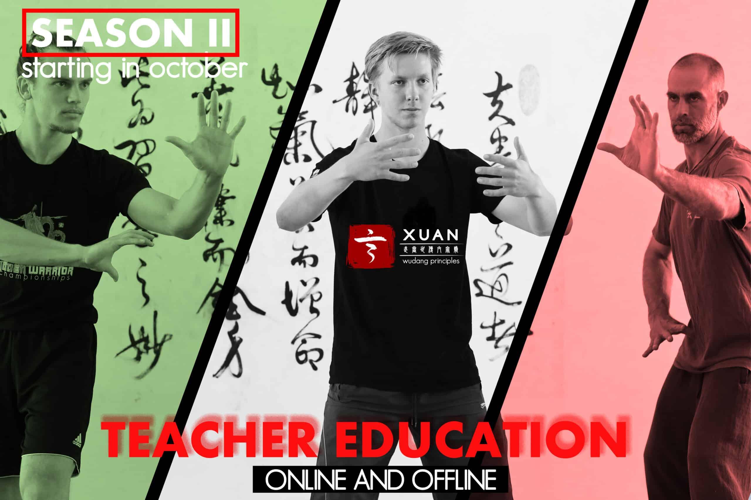 Teacher Training Season II (open for newcommers)